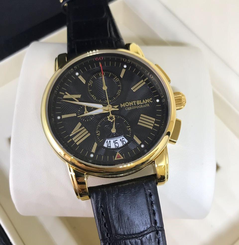 d6738628e8d Réplica de Relógio Mont Blanc - MB 11 Chronograph New