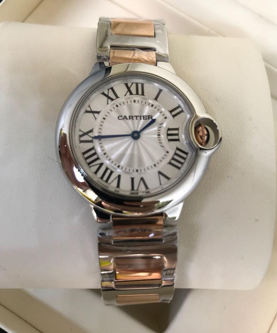 72da057210d Réplica de Relógio Cartier – CT 17 Ballon Bleu Misto Rose Menor ...