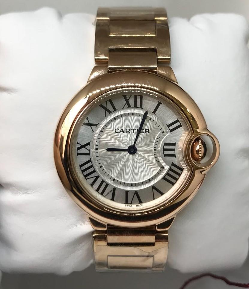 561171e4be8 Réplica de Relógio Cartier – CT 19 Ballon Bleu Rose Menor – Réplicas ...