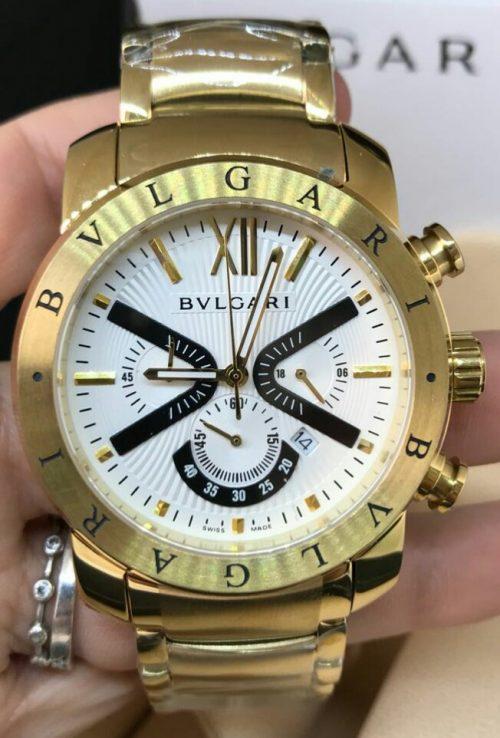 89484385a28 Réplica de Relógio Bvlgari – BV 52 Iron Man