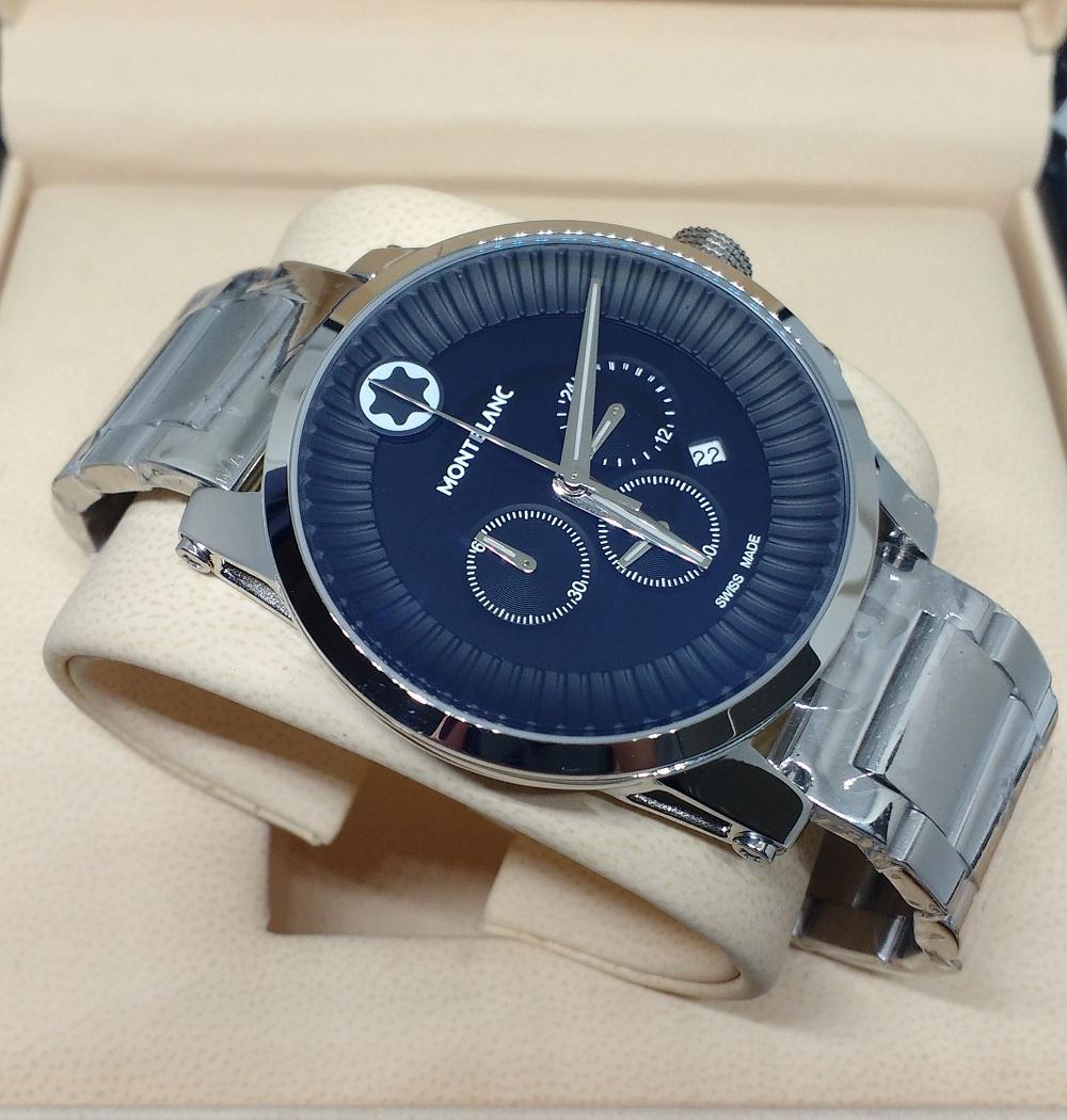 7c2005afcaf Réplica de Relógio Mont Blanc – MB 14 Time Walker – Réplicas de Relógios