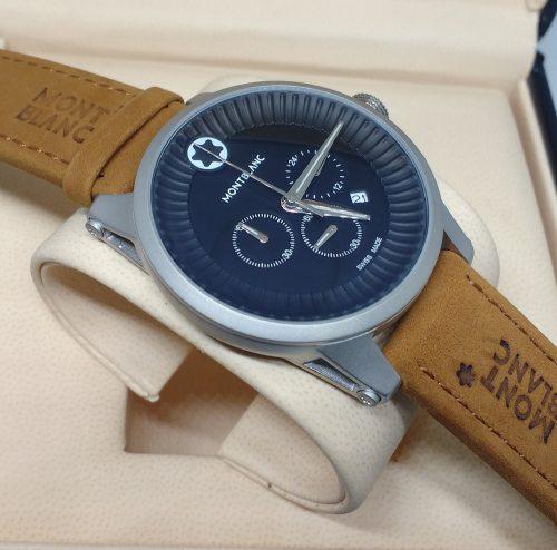 99c3e538158 Réplica de Relógio Mont Blanc – MB 22 Time Walker