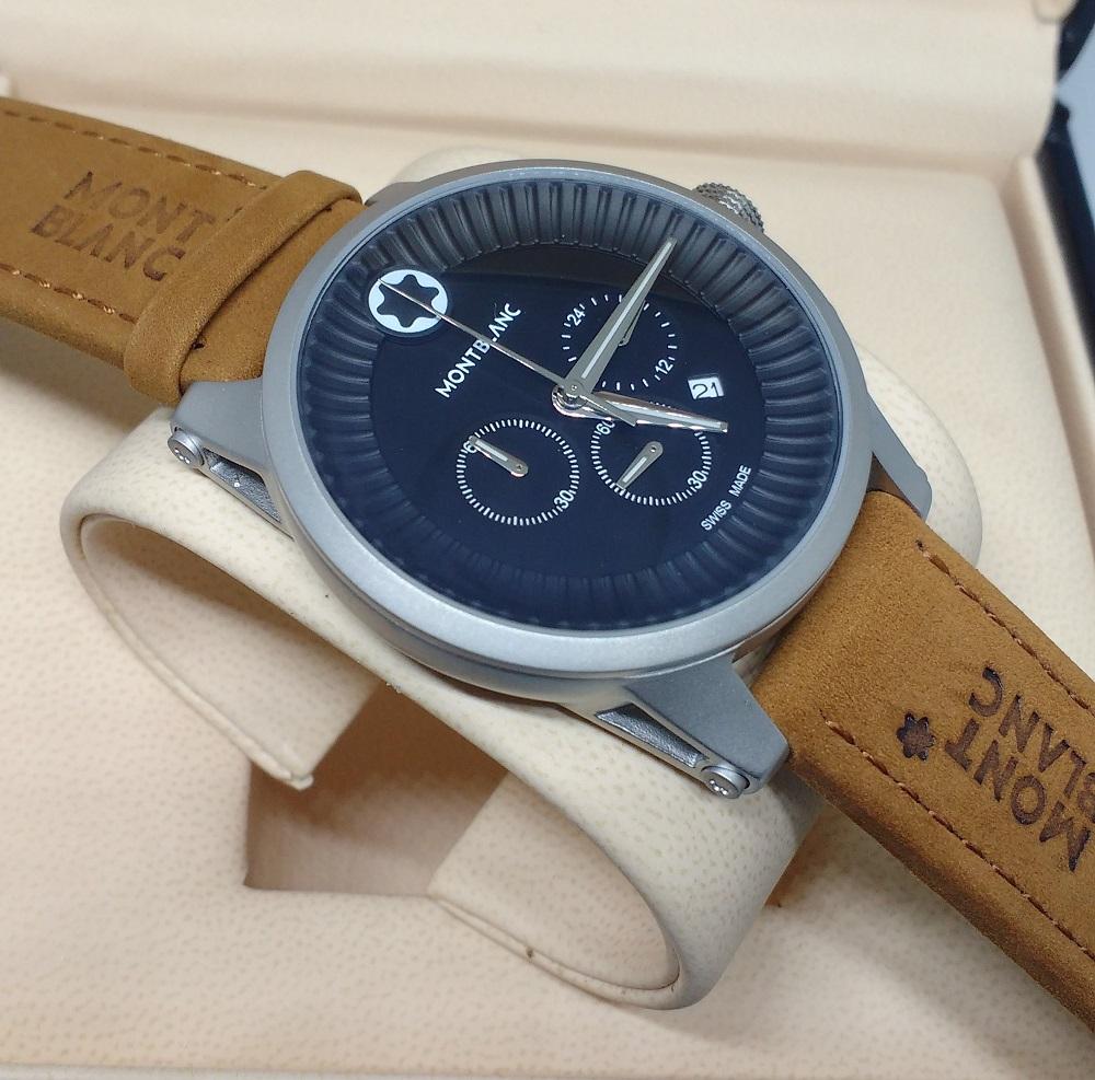 367eeff754c Réplica de Relógio Mont Blanc – MB 22 Time Walker – Réplicas de Relógios