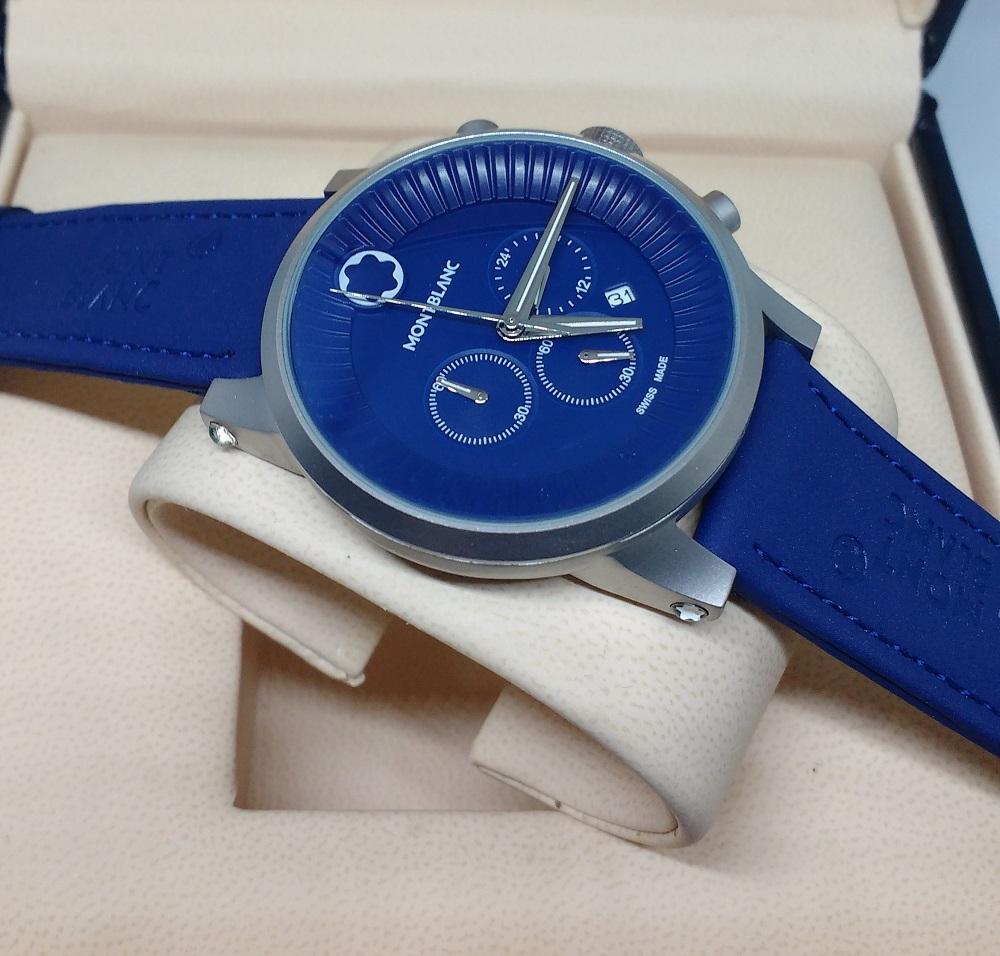 cc395ff22f3 Réplica de Relógio Mont Blanc – MB 23 Time Walker – Réplicas de Relógios