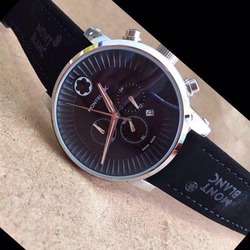 4b6f2c224bd Réplica de Relógio Mont Blanc – MB 24 Time Walker
