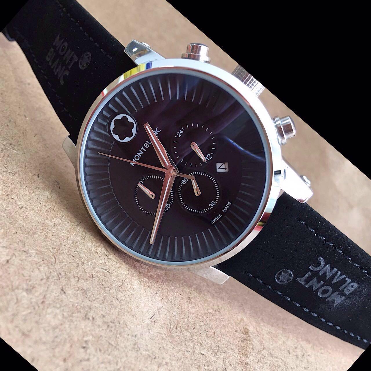 e538ffdbc62c9 Réplica de Relógio Mont Blanc – MB 24 Time Walker – Réplicas de Relógios