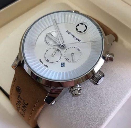 9c85a8067db Réplica de Relógio Mont Blanc – MB 25 Time Walker