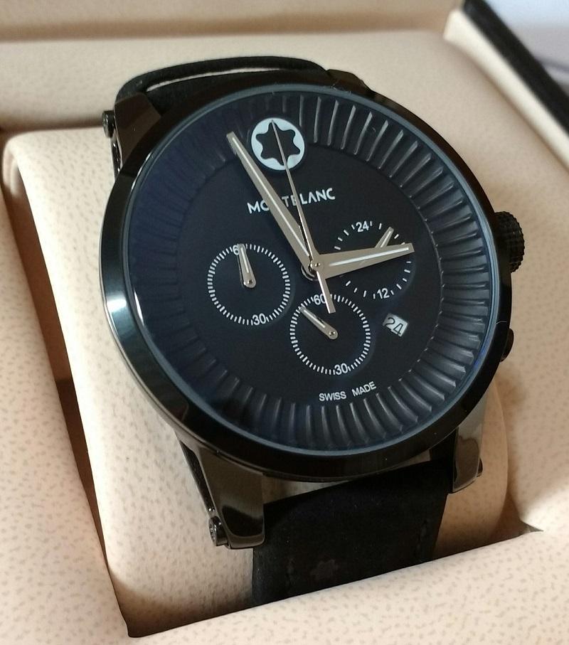 f578b710312 Réplica de Relógio Mont Blanc – MB 26 Time Walker – Réplicas de Relógios